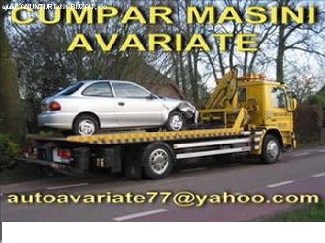 Cumpar masini avariate daune totale epave auto