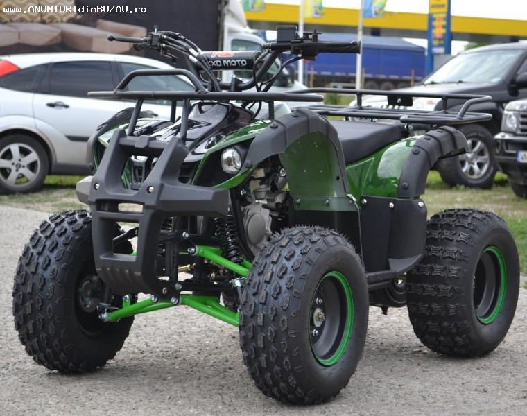 ATV 125cc KXD Grizzly 006C- Roti 8 Import Germania, Garantie