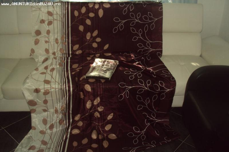 2 draperi noi deosebite  140x 250 cm  sigilate