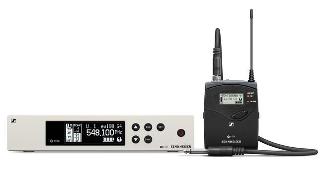 Instrument Set fara fir Sennheiser EW 100 G4-Ci1 - GENERATIA
