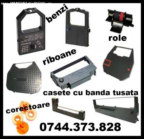 Role, Casete, Riboane ptr. masini de scris 0744373828