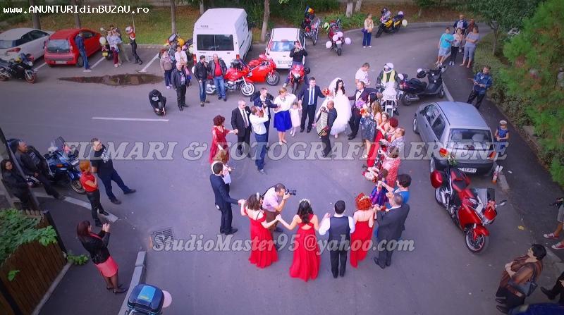 Foto-Filmare aeriana / Drona 4k nunta-nunti zona Buzau