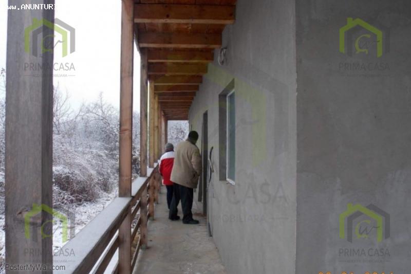 Casa p+1 in Statiunea de tratament balnear Sarata Monteoru;