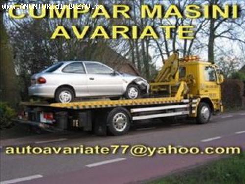 Cumpar auto avariate daune totale epave auto