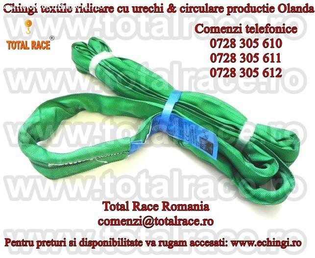 Chingi textile de ridicare pentru ridicat europaleti Total R