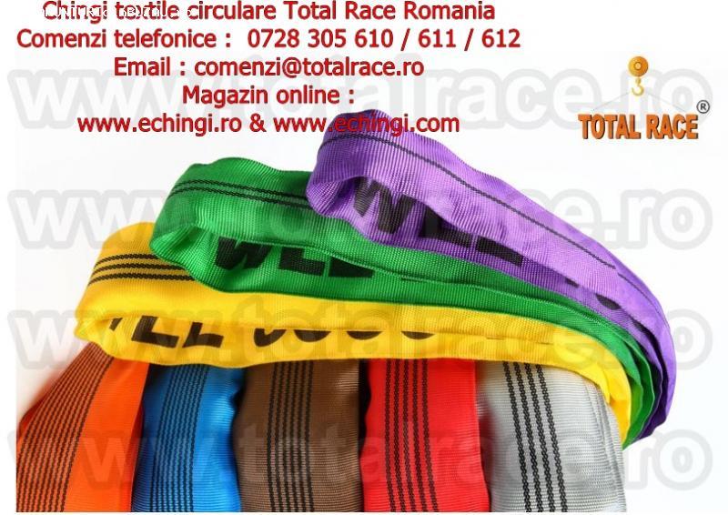 Chingi textile macara pentru ridicat sarcini