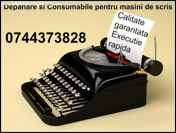 Depanare si consumabile masini de scris, rapid in Bucuresti