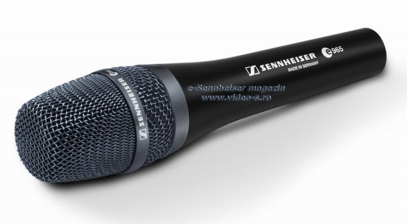 Microfoane SENNHEISER – modele noi lansate in stoc