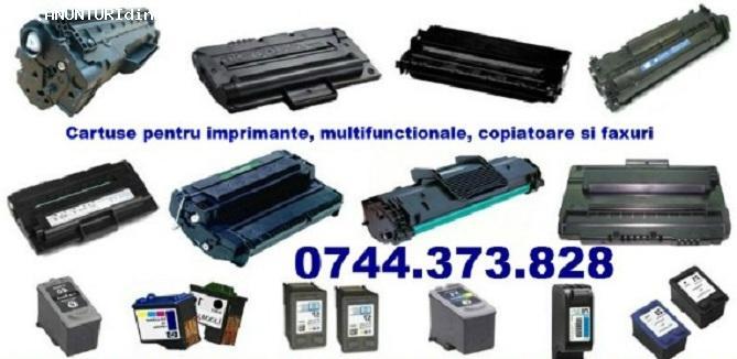 Cartuse HP, SAMSUNG pentru imprimante si multifunctionale.