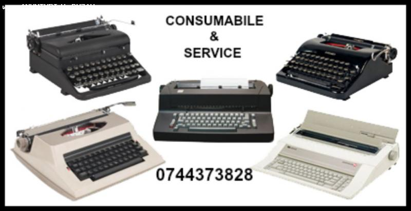 Service si consumabile masini de scris.
