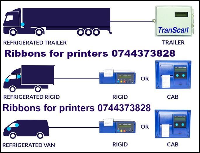 Tus pt.inregistrator temperatură cu imprimanta(transport fri