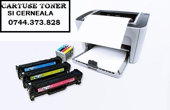 Cartuse si tonere pentru imprimanta si multifunctionala.