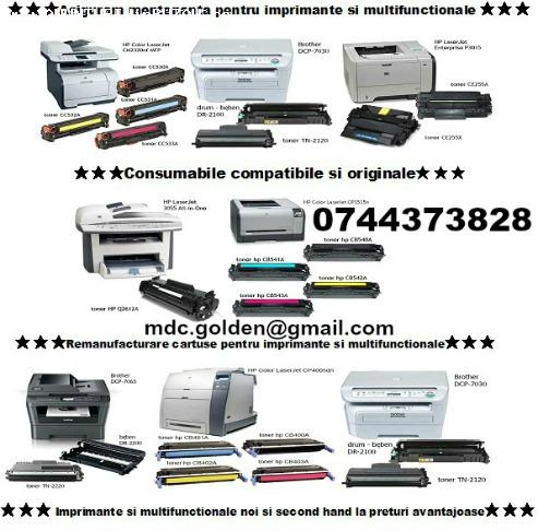 Cu testare consumabile ptr.multifunctionale, imprimante, fax