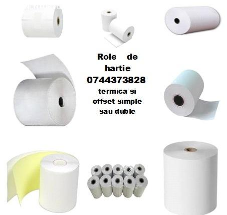 Role hartie offset si termica toata gama