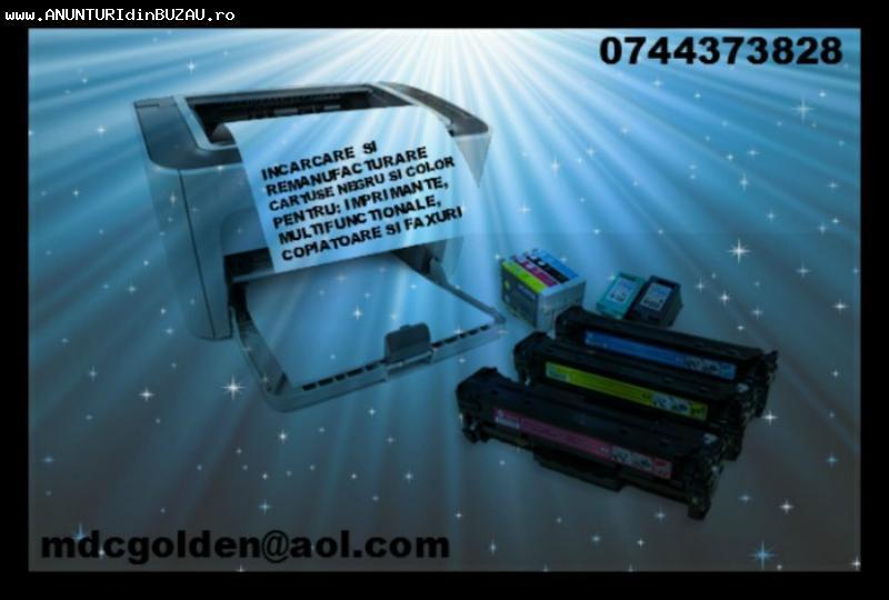 Mentenanta cartuse imprimante, multifunctionale, copiatoare