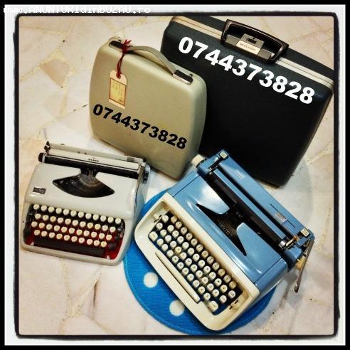 Depanare si consumabile masini de scris mecanice si electric