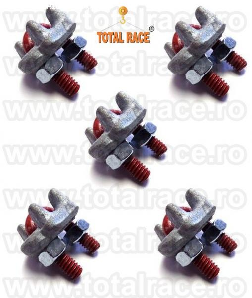 Brida forjata cablu otel Total Race