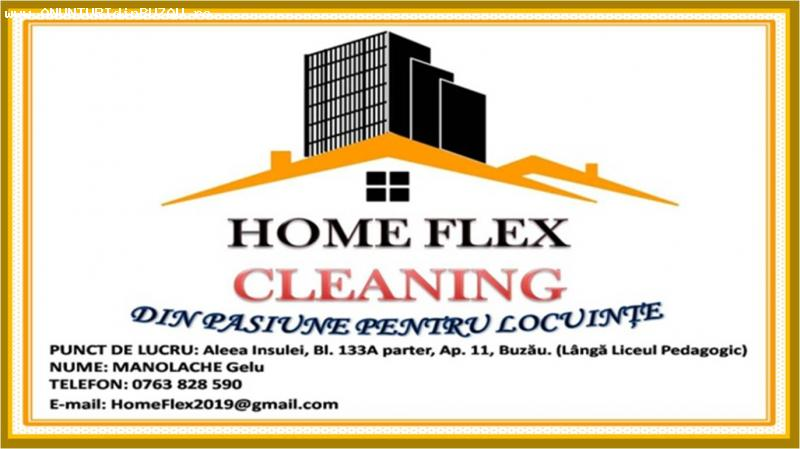 Home Flex , Firma de curatenie . Preturi de la 250 lei !