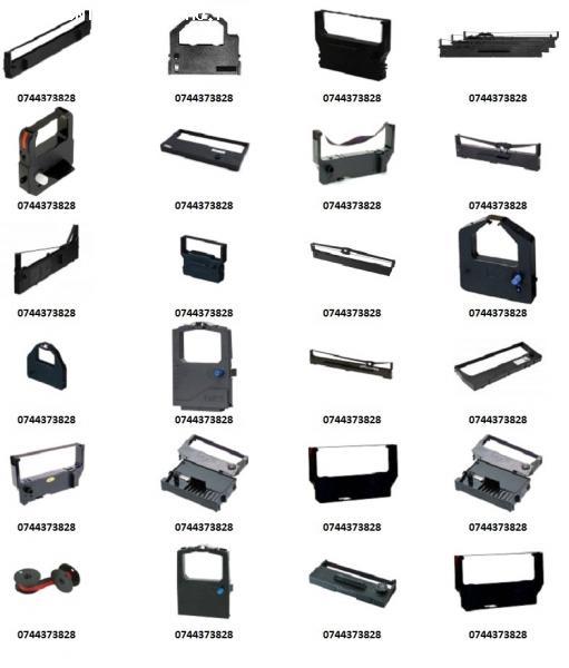 Cartus tusat masini de scris, imprimante pos matriciale, mas
