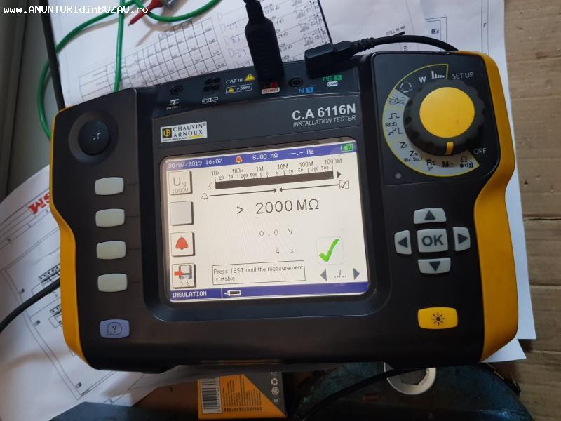 Verificări PRAM şi testari de electrosecuritate