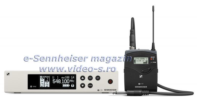 Instrument Set fara fir Sennheiser EW 100 G4