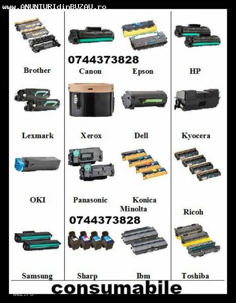 Oferim rapid cartuse ptr.imprimante, multifunctionale, copia