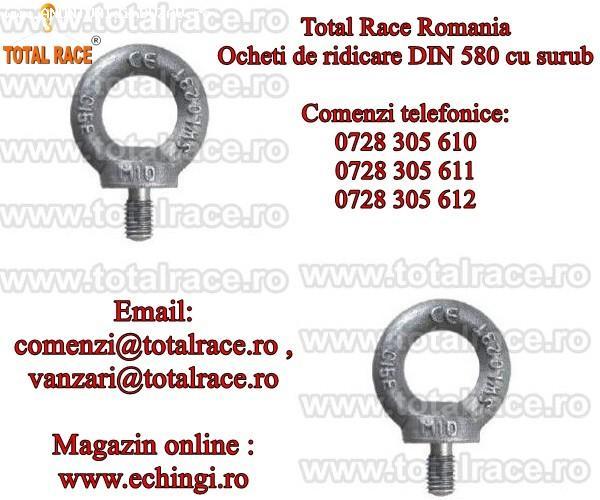 Ocheti de ridicare DIN 580 stoc Bucuresti Total Race