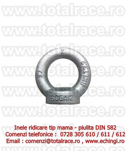 Piulita inelara DIN 582 Total Race