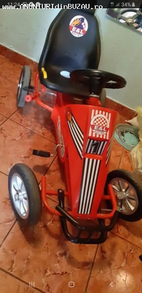 Cart cu pedale pentru copii