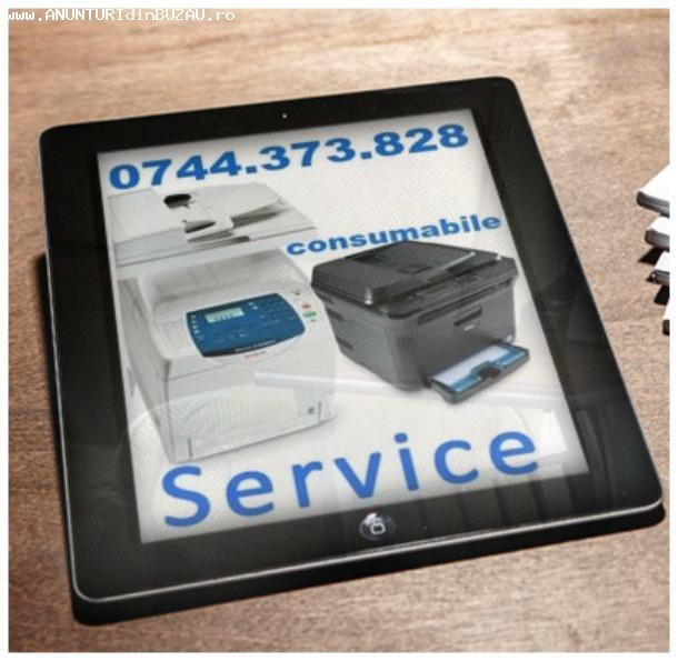 Service pentru imprimante si multifunctionale cu executie ra