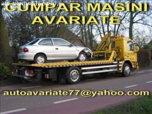Cumpar auto avariate ,dauna totala,epave