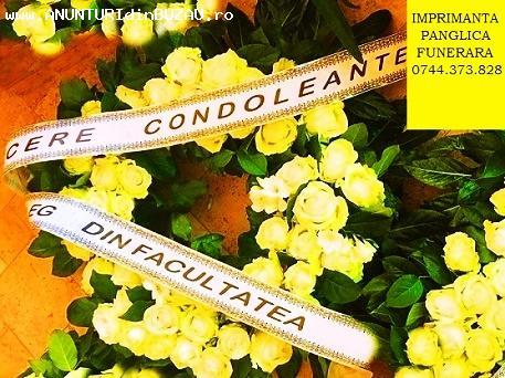 Imprimanta banda funerara 0744373828