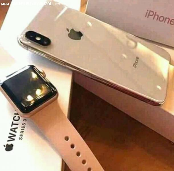Apple iPhone X 256GB with Apple Watch Series 3