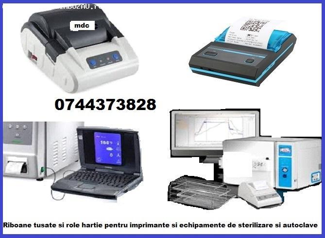 Riboane tusate si Role hartie ptr. imprimante echipamente st
