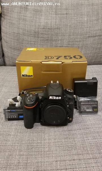Nikon D750 Full-Frame DSLR Camera with AFS 24-120mm VR Lens