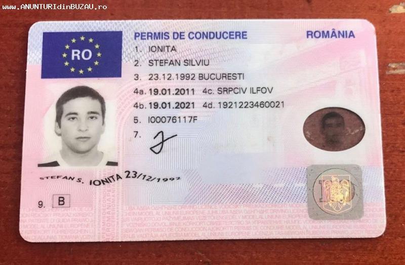 Cumpărați permise de conducere UE, Română