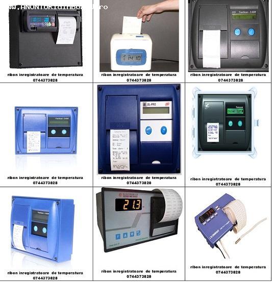 Casete tusate si role hartie termodiagrame frigorifice tip T