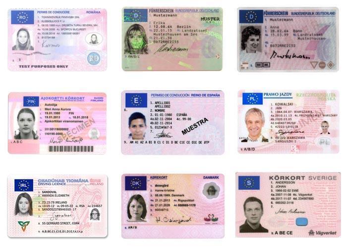 Cumpărați permisul de conducere UE, Română
