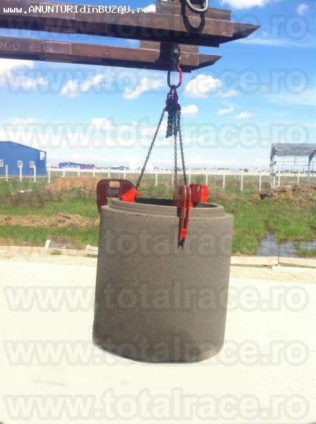 Sisteme de manevrare prefabricate din beton si camine