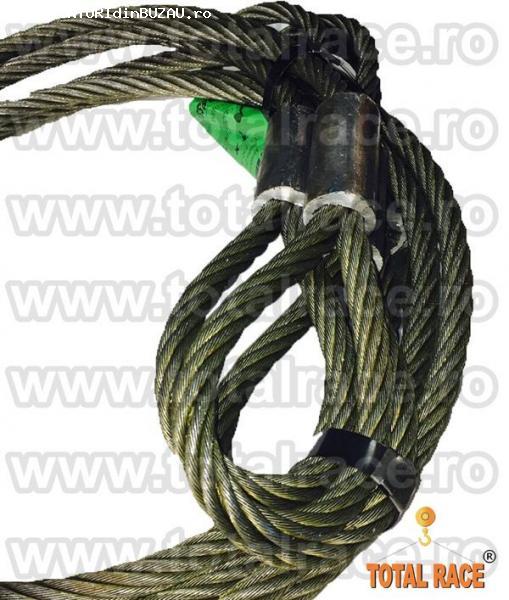 Cablu metalic cu manson talurit 16 mm