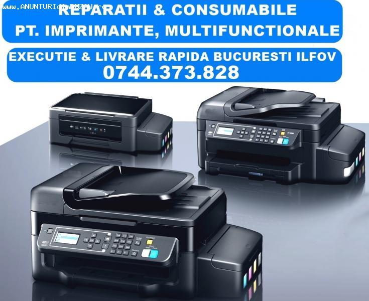 Reparatii imprimante Epson EcoTank-Bucuresti si Ilfov. Servi