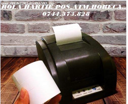 Rola hartie imprimanta Horeca- note plata,bar,comenzi bucata