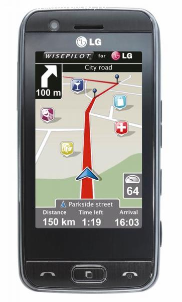 vand lg gt505 full touch screen
