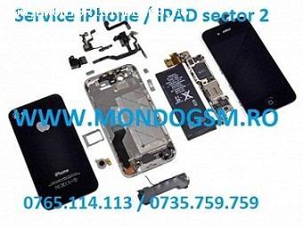 Schimb GEAM iPhone 4 4S pe loc MONDO GSM Reparatii iPhone 4 4S nu porneste
