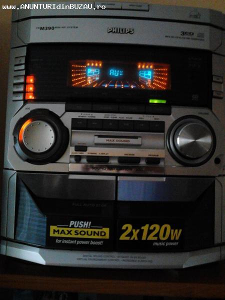 combina audio philips
