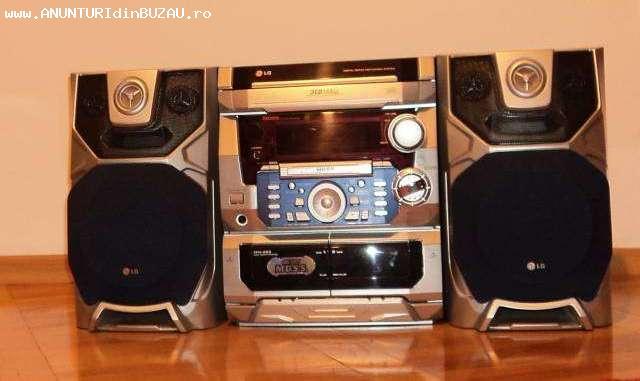 Combina Audio LG 3cd player-casetofon deck dublu autorevers