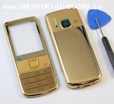 vand telefon nokia 6700 cu carcasa gold