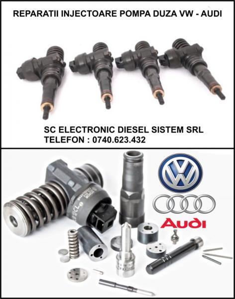 Reparatii injectoare pompe duze Vw, Audi, Skoda, Seat