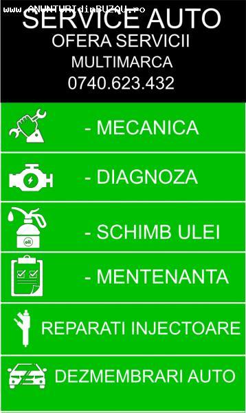 Service Auto Buzau - Mecanica, Electrica, Siseme de injectie
