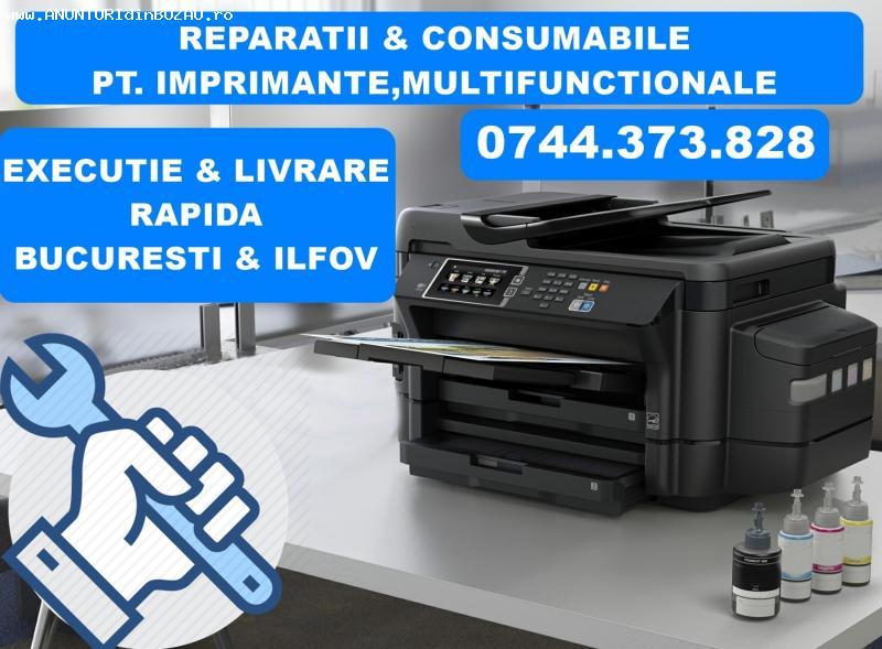 Reparatii imprimante la sediul societatii dvs Bucuresti si I